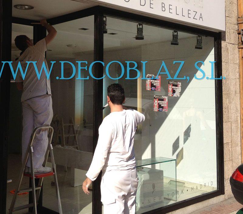 Pintores locales comerciales en Madrid