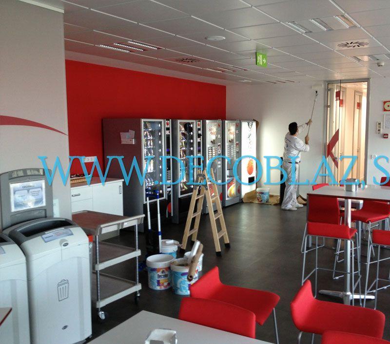 Pintores de oficinas en Madrid